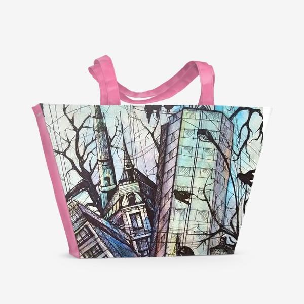 Пляжная сумка «Ритмы города»