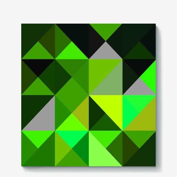 Холст «зелень»