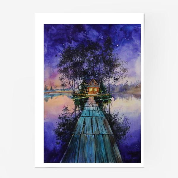 Постер «Дом тишины»