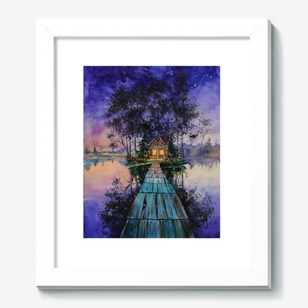 Картина «Дом тишины»