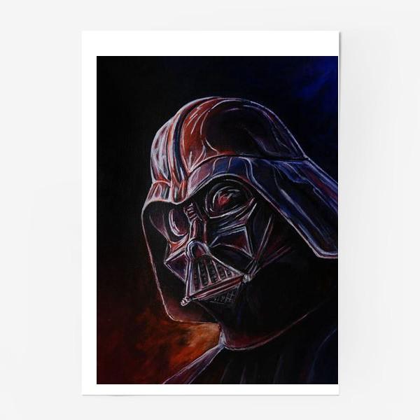 Постер «Darth Vader. Дарт Вейдер. Звездные войны»