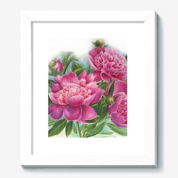 Картина «Розовое трио»