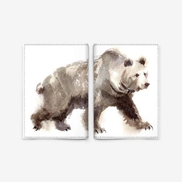 Обложка для паспорта «Медведь»