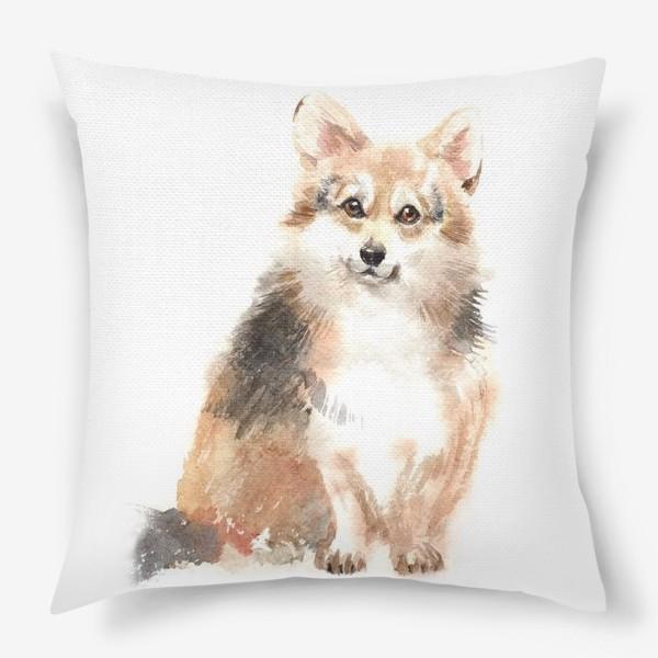 Подушка «Собака Корги»