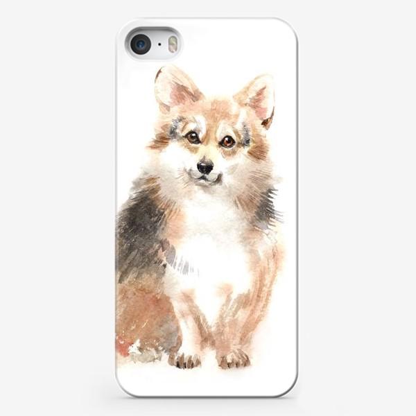 Чехол iPhone «Собака Корги»
