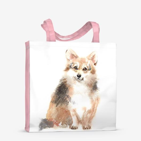 Сумка-шоппер «Собака Корги»