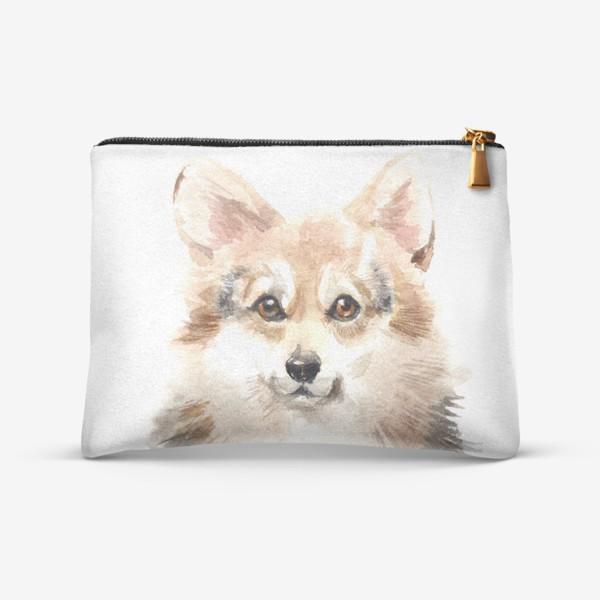Косметичка «Собака Корги»