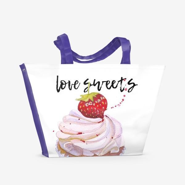 Пляжная сумка «Сладкоежкам»