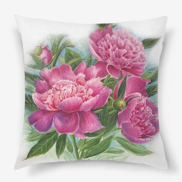 Подушка «Розовое трио»