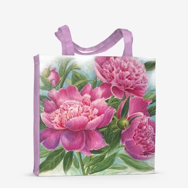 Сумка-шоппер «Розовое трио»