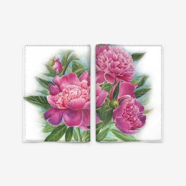Обложка для паспорта «Розовое трио»