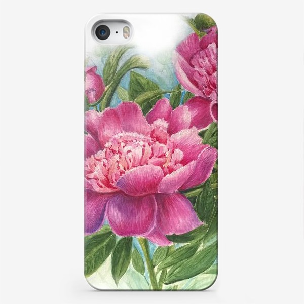 Чехол iPhone «Розовое трио»