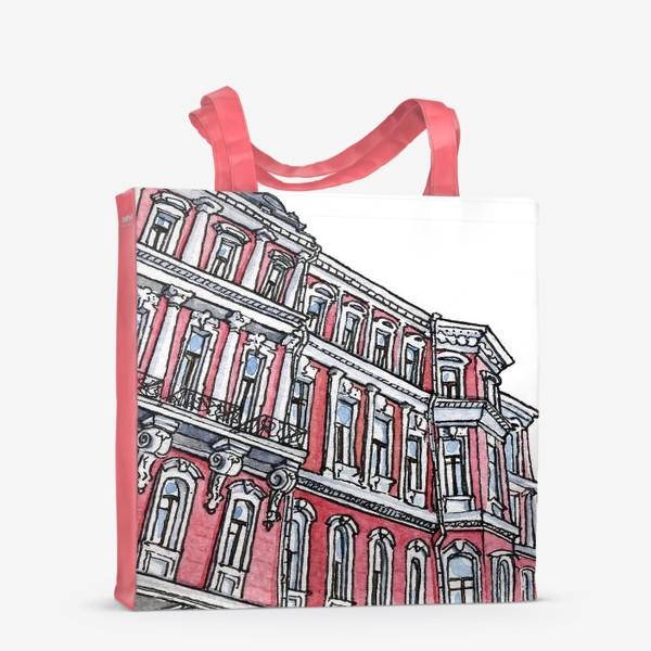Сумка-шоппер «Питерская архитектура / Неоклассицизм / Эклектика Санкт Петербурга»