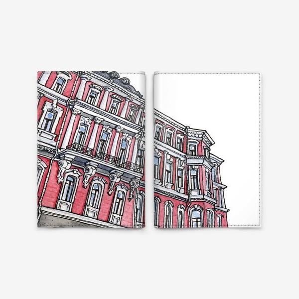 Обложка для паспорта «Питерская архитектура / Неоклассицизм / Эклектика Санкт Петербурга»