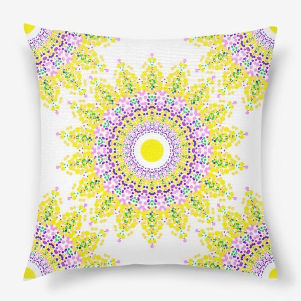 Подушка «Солнце»