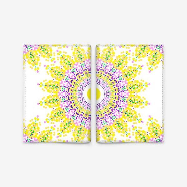 Обложка для паспорта «Солнце»