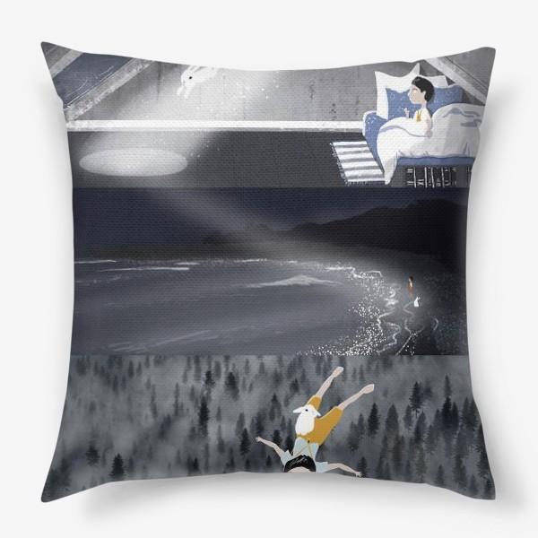 Подушка «Полет во сне»