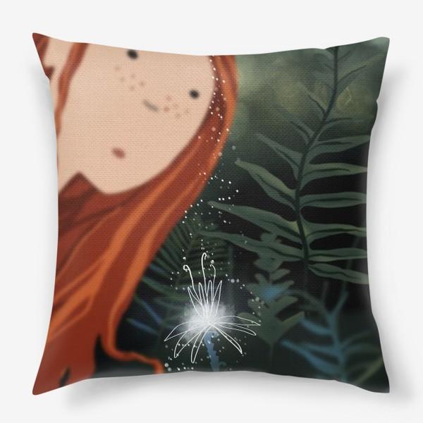 Подушка «Цветок папоротника»