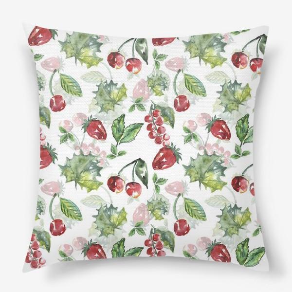 Подушка «Дачные ягоды»