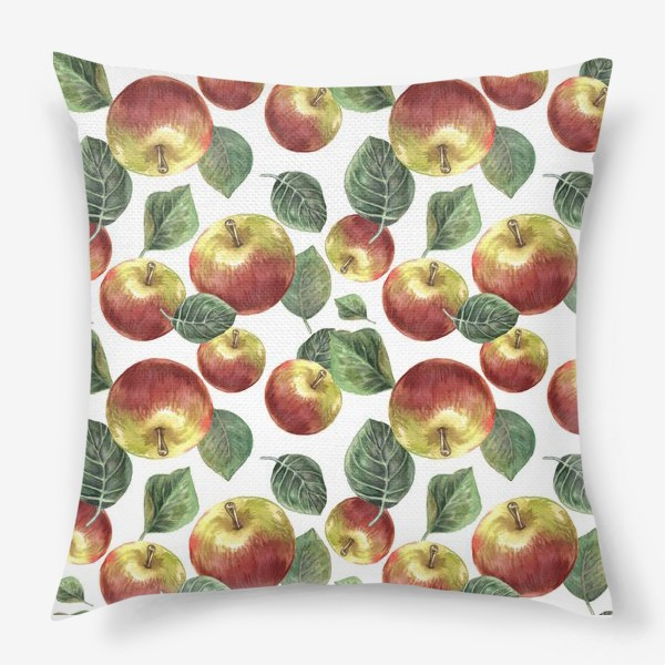Подушка «Сочные яблоки»