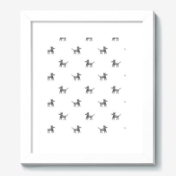 Картина «Паттерн с собаками»