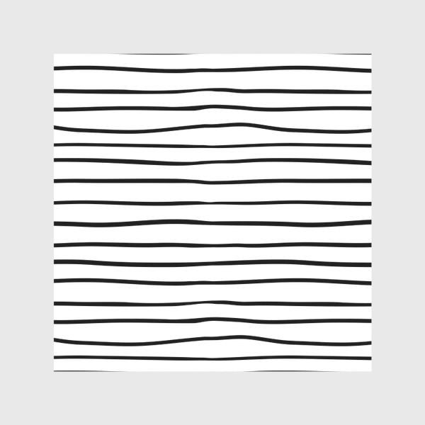Скатерть «Черно-белые полоски»