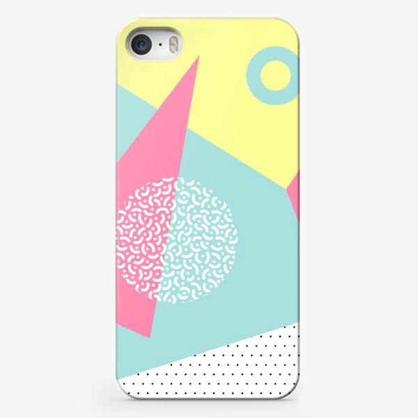 Чехол iPhone «Memphis pattern»