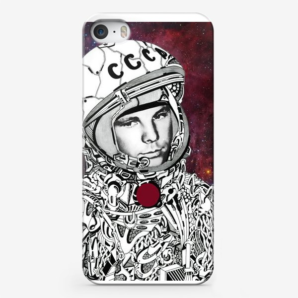 Чехол iPhone «Гагарин»
