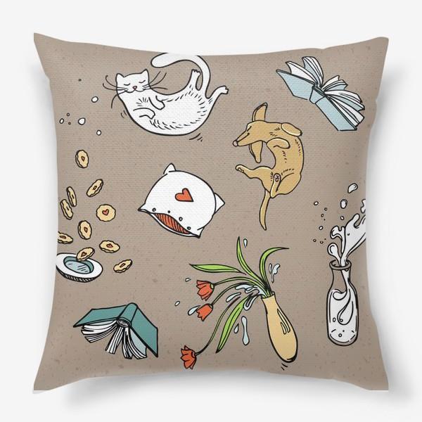 Подушка «Полеты во сне и на яву»