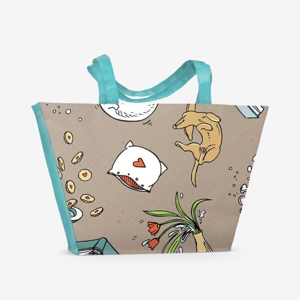 Пляжная сумка «Полеты во сне и на яву»