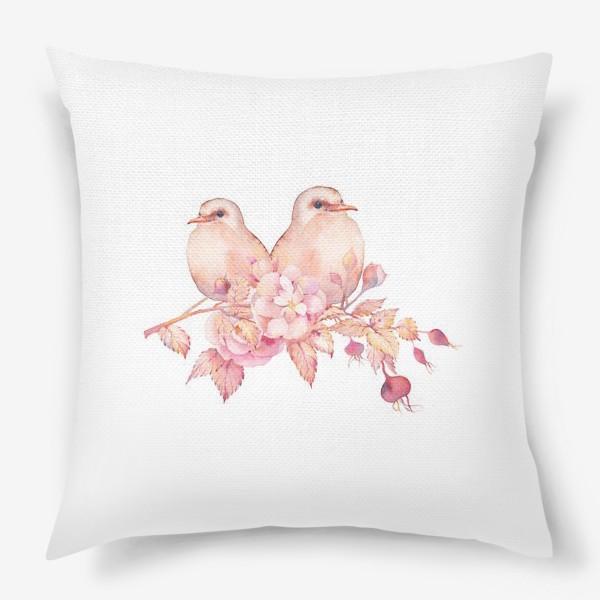 Подушка «Птички»