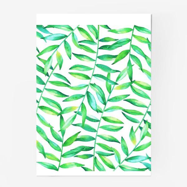 Постер «Пальмовые джунгли»
