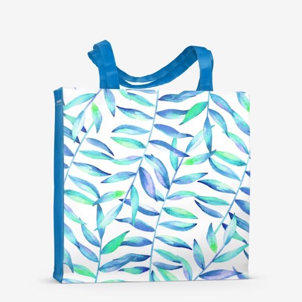 Сумка-шоппер «Паттерн из листьев »
