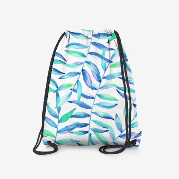 Рюкзак «Паттерн из листьев »