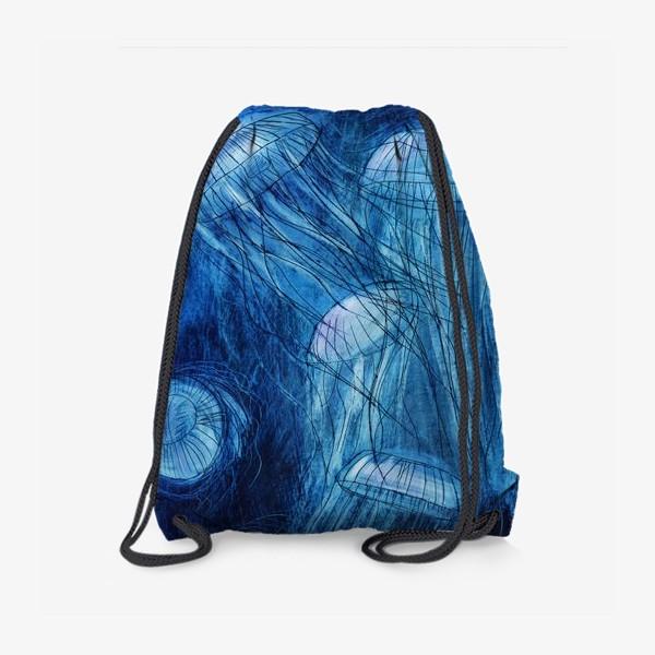 Рюкзак «медузы в море»