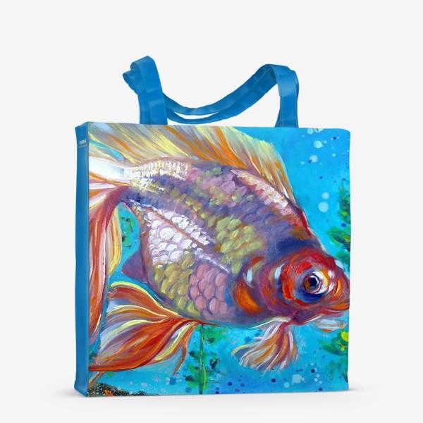 Сумка-шоппер «Золотая рыбка»