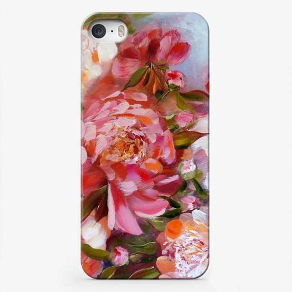 Чехол iPhone «Счастливые пионы»
