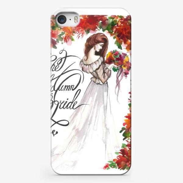 Чехол iPhone «The Autumn Bride»