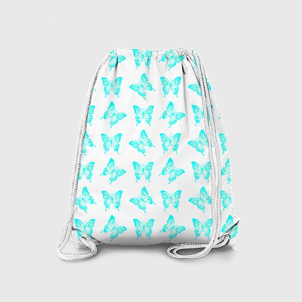 Рюкзак «Голубые бабочки»