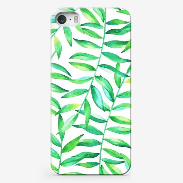 Чехол iPhone «Пальмовые джунгли»