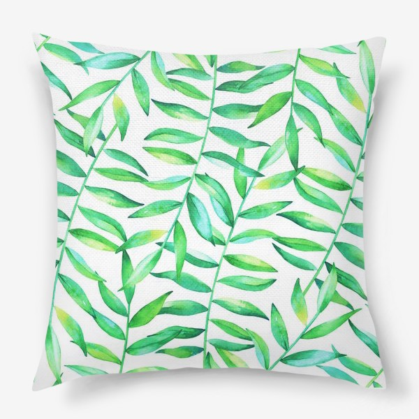 Подушка «Пальмовые джунгли»