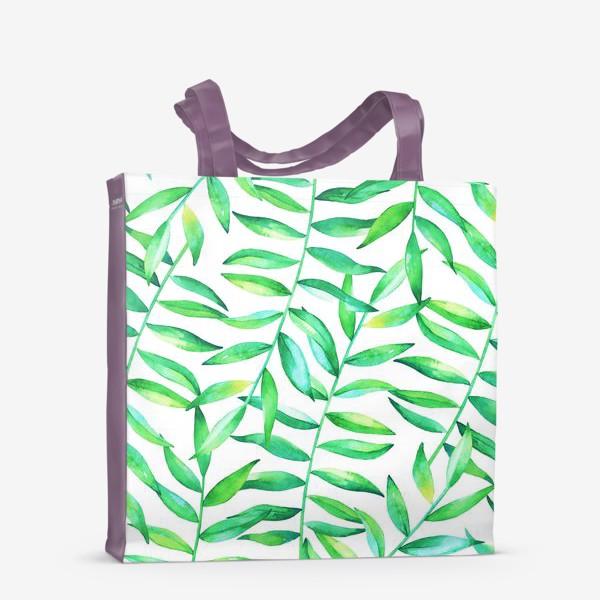 Сумка-шоппер «Пальмовые джунгли»