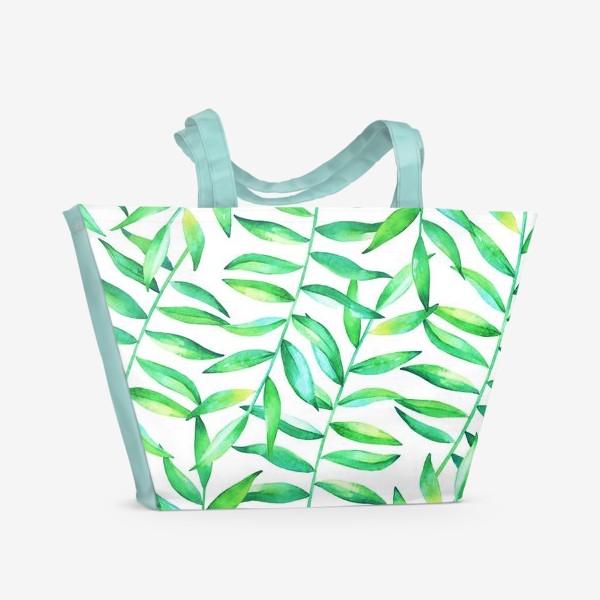 Пляжная сумка «Пальмовые джунгли»