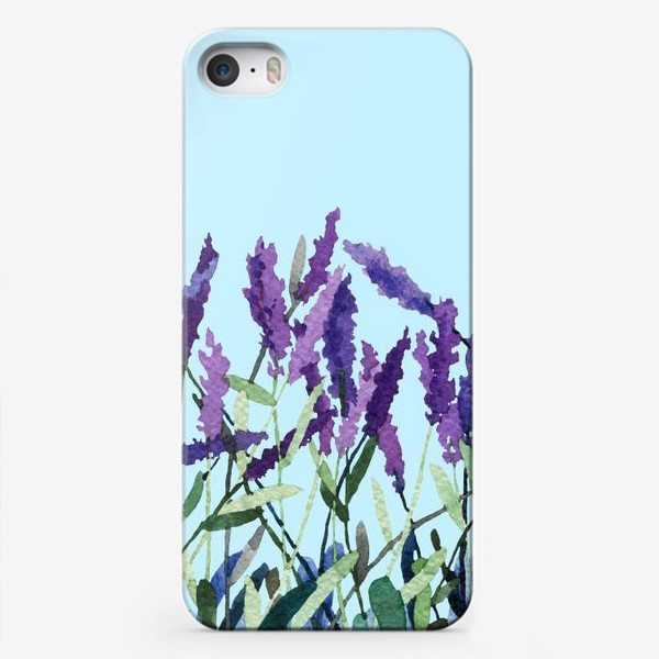Чехол iPhone «Violet lavender»