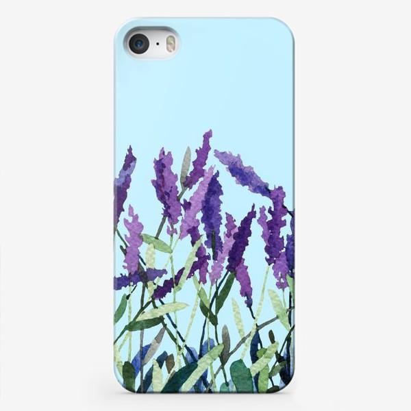 Чехол iPhone «Violet lavender»