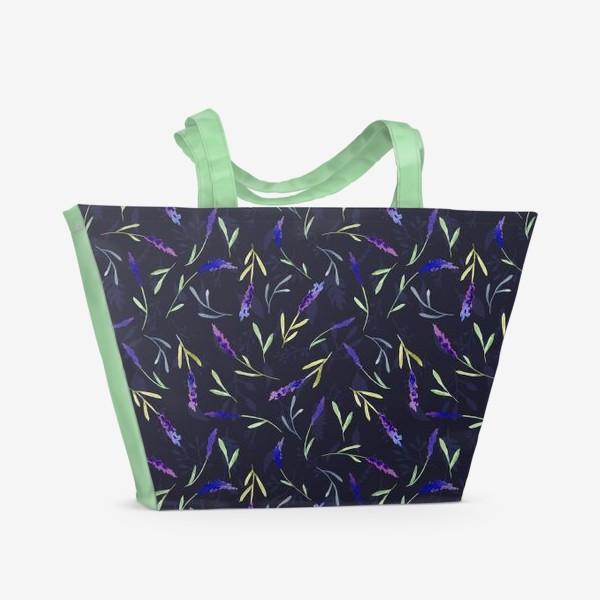 Пляжная сумка « Lavender »