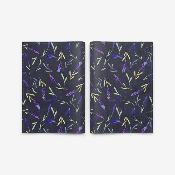 Обложка для паспорта « Lavender »