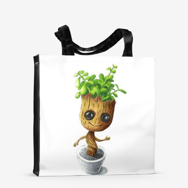 Сумка-шоппер «Малыш Грут»