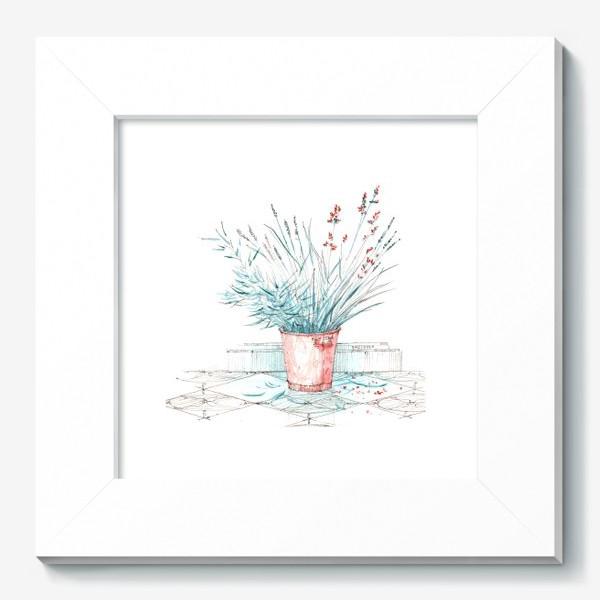 Картина «Мятные травы»