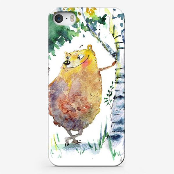 Чехол iPhone «Миша »